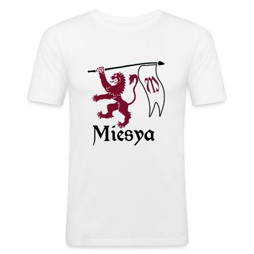 Miesya Shirt Vrouw - Mannen slim fit T-shirt