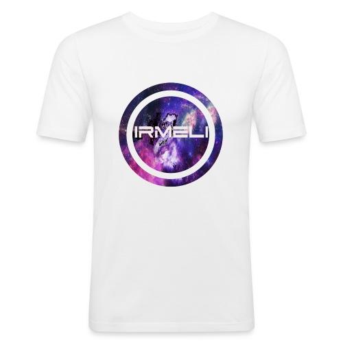 GALAXY LOGO - Miesten tyköistuva t-paita
