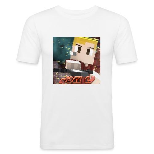 Noel W Profil - Männer Slim Fit T-Shirt