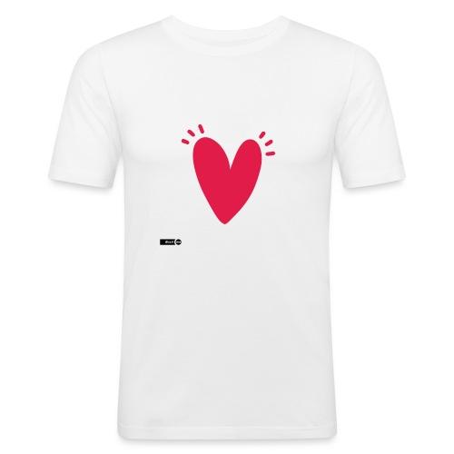 st valentin - T-shirt près du corps Homme