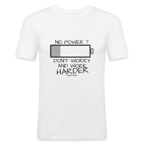 A bout de force ? - T-shirt près du corps Homme