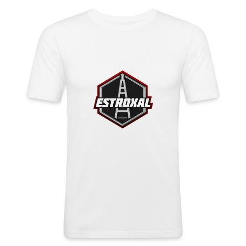 Estroxal - Logo - Miesten tyköistuva t-paita