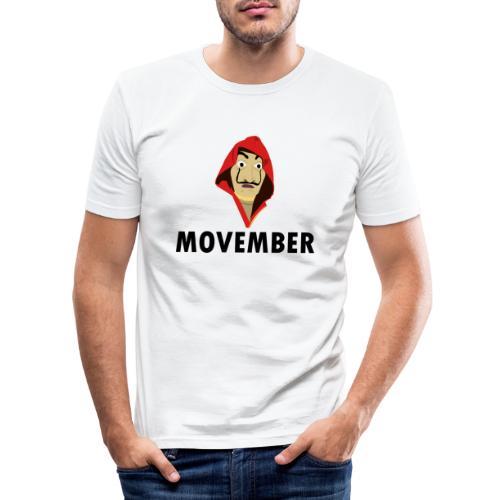 Le mois de la moustache - T-shirt près du corps Homme