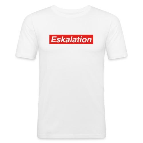 Eskalation - Männer Slim Fit T-Shirt