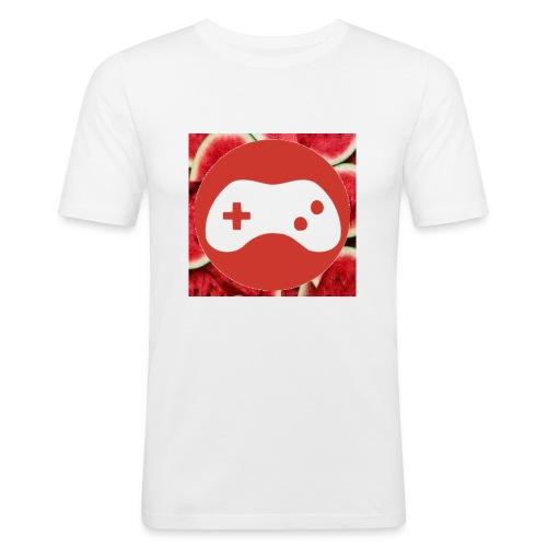 OFF watermelon - Herre Slim Fit T-Shirt
