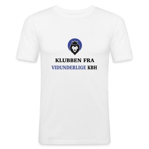Klubben fra vidunderlige KBH (Kun få tilbage!) - Herre Slim Fit T-Shirt