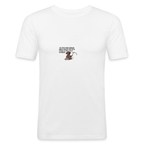 Comicità - Maglietta aderente da uomo