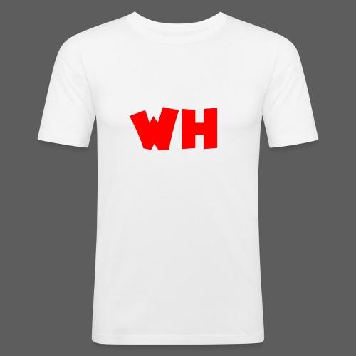 WH - Mannen slim fit T-shirt
