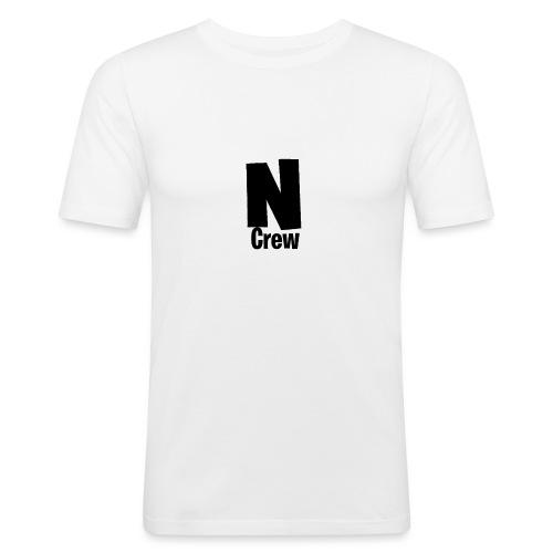 NoahCrew (schwarz) - Männer Slim Fit T-Shirt