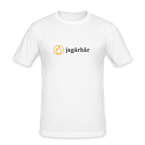 #jagärhär - Slim Fit T-shirt herr