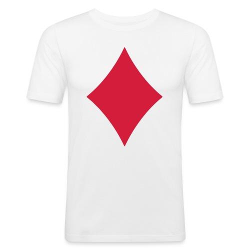 Karo Logo - Männer Slim Fit T-Shirt