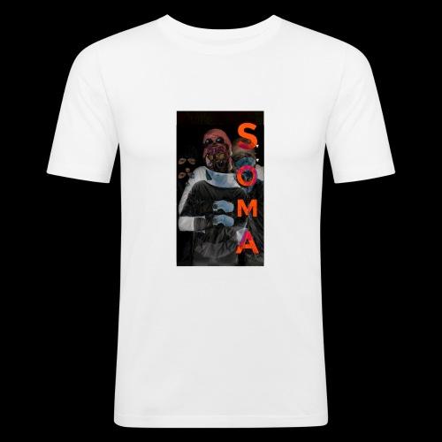 S O M A // Design - Mannen slim fit T-shirt