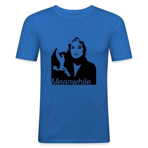 Laura Palmer meanwhile... - Maglietta aderente da uomo