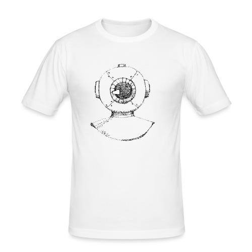 nautic eye - Mannen slim fit T-shirt