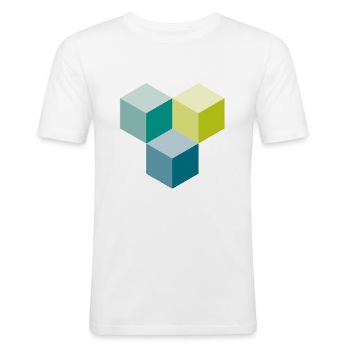 Cube - Männer Slim Fit T-Shirt