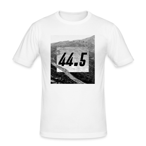 44.5   44 point 5   44 ,5   44 komma 5 - Männer Slim Fit T-Shirt