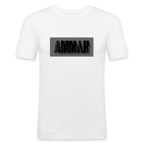 Ammar logo printed T-Shirt - Men's Slim Fit T-Shirt