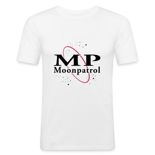 MOONPATROL LOGO - Männer Slim Fit T-Shirt