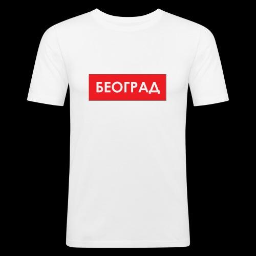 Beograd - Utoka - Männer Slim Fit T-Shirt