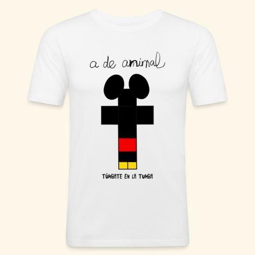 Túmbate en la tumba - Camiseta ajustada hombre