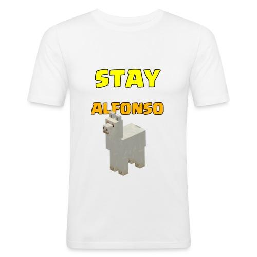 Stay alfonso - Maglietta aderente da uomo