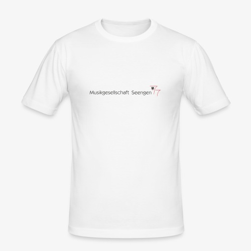 Logo MGS - Männer Slim Fit T-Shirt