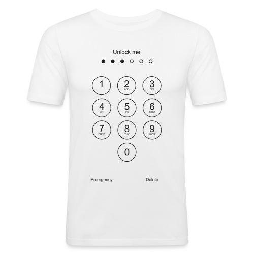 Unlock Me - Mannen slim fit T-shirt