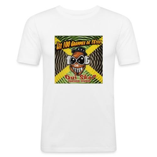 qui ska copie jpg - T-shirt près du corps Homme
