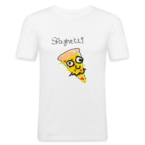 spaghetti - Mannen slim fit T-shirt