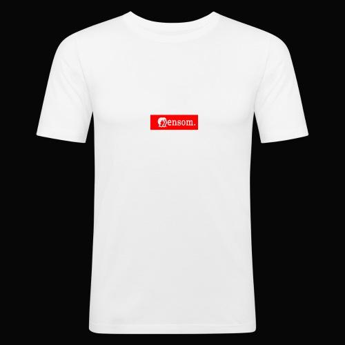 Ensom - Slim Fit T-skjorte for menn