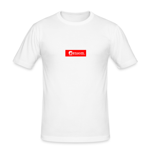 Ensom - Slim Fit T-skjorte for menn