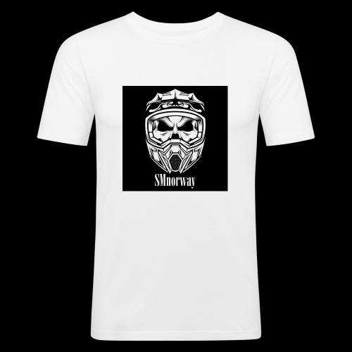 SMnorway - Slim Fit T-skjorte for menn