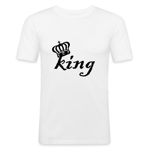 King (Parejas I) - Camiseta ajustada hombre