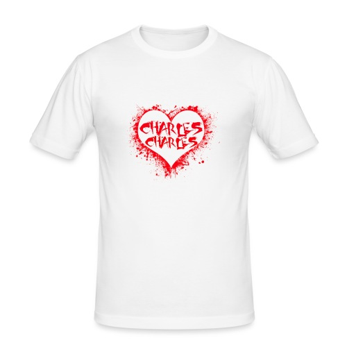 CHARLES CHARLES VALENTINES PRINT - LIMITED EDITION - Men's Slim Fit T-Shirt