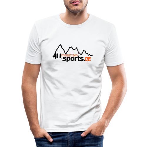 allmountainsportsde Profil - Männer Slim Fit T-Shirt