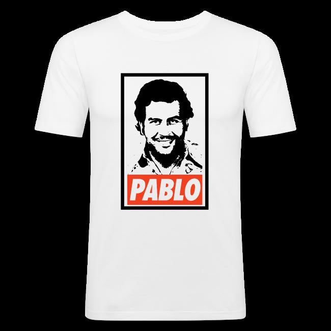 45e37580 T-Shop   Pablo Escobar Obey - Narcos - Mens Slim Fit T-Shirt