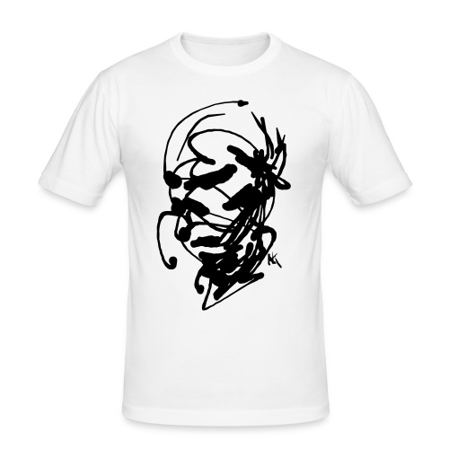 face - Men's Slim Fit T-Shirt