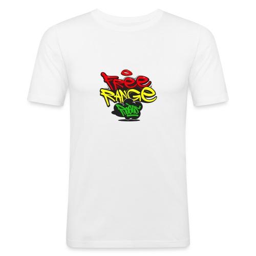 Freerange_Roots - Men's Slim Fit T-Shirt