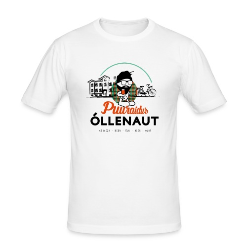 Õllenaut Puuraidur - Men's Slim Fit T-Shirt