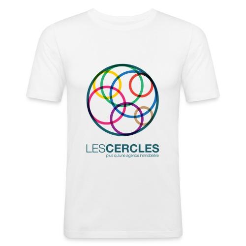 LESCERCLES 2019 Colour - Men's Slim Fit T-Shirt
