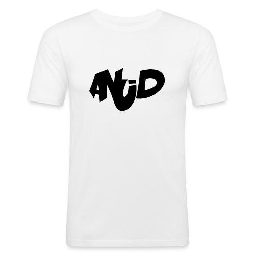 anudlogo3 - slim fit T-shirt