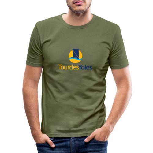 Tour des Yoles - T-shirt près du corps Homme