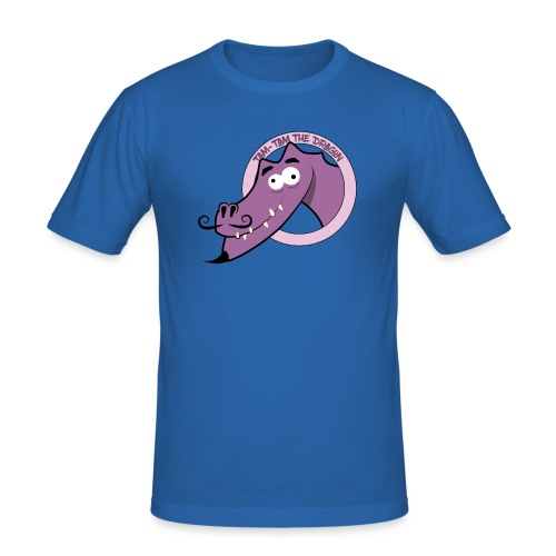 Tam-Tam The Dragon - Herre Slim Fit T-Shirt