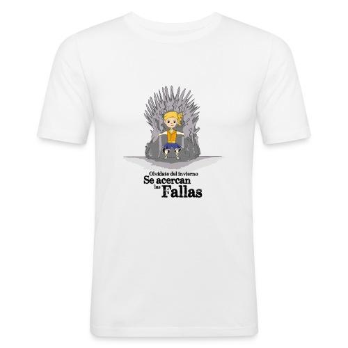 Camiseta hombre: Se acercan las fallas - Camiseta ajustada hombre
