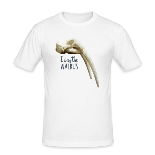 I was the walrus - Mannen slim fit T-shirt
