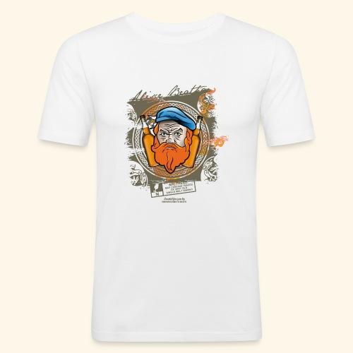 Malthead Whisky T Shirt - Männer Slim Fit T-Shirt