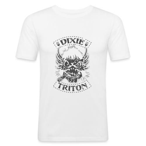 tritone - Maglietta aderente da uomo