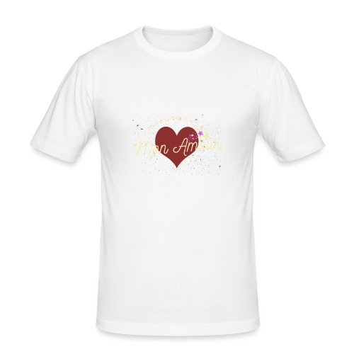 Corbynista Mon Amour - Men's Slim Fit T-Shirt