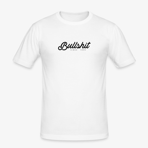 Bullshit depuis 1999 noir - T-shirt près du corps Homme