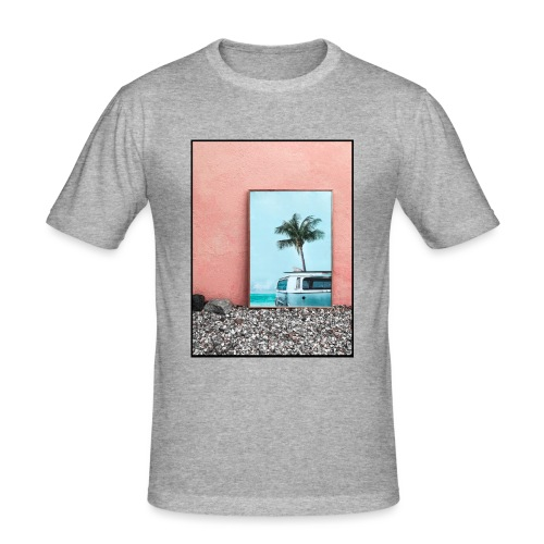 Palm Beach - Maglietta aderente da uomo